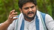 Hardik Patel takes the road after farmer refuses to let his chopper land