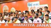 Setback for Mamata as Mukul Roy's son, 2 Bengal MLAs, 50 councillors join BJP