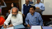 Gadkari takes charge of road transport ministry, says jobs, infrastructure are priorities
