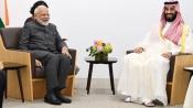 Modi discusses energy security, terrorism with Saudi Prince Salman in Japan