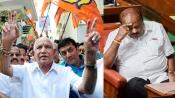 Karnataka coalition falls 99-105, BJP set to form next government