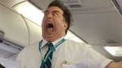 This hilarious video shows flight attendant delivering dramatic safety instructions