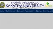 Direct link to check Kakatiya University Degree result 2019