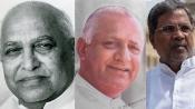Nijalingappa, Urs, Siddaramaiah: The only 3 Karnataka CMs who have completed terms