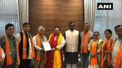 BJP set to conquer entire North East: 10 SDF MLAS join saffron party