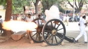 Canon firing: It's drill time for Dasara elephants