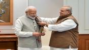 J&K Governor Satya Pal Malik calls on Prime Minister Modi