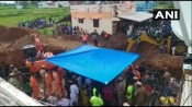 2-year-old stuck in 100-ft-deep borewell; rescue teams dig parallel shaft to reach him