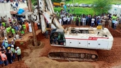 Over 60 hours, Drilling underway as rescue ops continue to save Sujith Wilson trapped in borewell