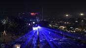 Watch: Dazzling laser show in Delhi to celebrate pollution-free Diwali