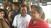 Kejriwal boards buses to get feedback about free-ride scheme