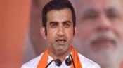 'Babuji Dheere Chalna': Gautam Gambhir dig at Kejriwal on potholes