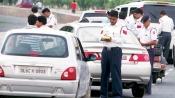 Delhi: As Odd-even rule kicks in, traffic Police fines driver for breaking rules