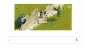 Today's Google Doodle dedicated to 30th anniversary of Berlin Wall