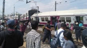 Hyderabad: 5 injured after two trains collide head-on at Kacheguda Railway Station