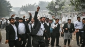 Tis Hazari case: Lawyers of Delhi HC, district courts protest against clash, abstain from work