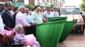 NALCO dedicates 5 more BOVs and donates PCR mobile van at Puri