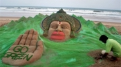 Sand artist Sudarsan Pattnaik becomes first Indian to win prestigious Italian award