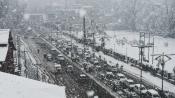 J&K national highway closed after snowfall in Ramban
