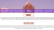RRC recruitment for 10th pass jobs: Check eligibility for 2,562 jobs