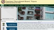 Tripura TET Result 2019 released: Check document scrutiny date