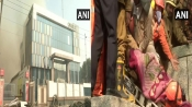 Delhi: One firefighter dies battling Peeragarhi blaze; all trapped persons rescued