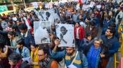 JNU protests: Yechury, Sharad Yadav join citizens' march at Mandi House