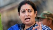 Congress a sinking ship, uses farmers for its benefit: Smriti Irani