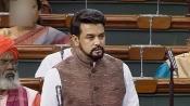 Oppn shouts 'Goli maarna band karo' against Union minister Anurag Thakur in LS