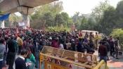 Aeen ke dum pe march karenge: Despite police warning, Jamia protesters hold their ground