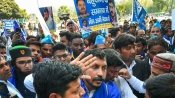 Congress, Bhim Army stages protest in Lucknow, Hathras over gang-rape