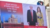 Agra residents eager to catch a glimpse of Donald Trump's '2018 Beast'