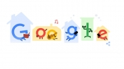 Stay home. Save lives. Google Doodle shares tips to fight coronavirus