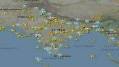 With the flights back, here is how the Indian skies look today