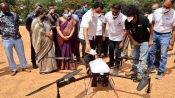 To fight COVID-19, Karnataka Dy CM Dr. Ashwathnarayan launches disinfectant drones