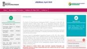 NTA JEE Main Result 2020 declared