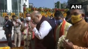 Amit Shah visits Swami Vivekananda's birthplace, says his ideals more relevant today