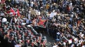 Myanmar protesters march again, defying ban on gatherings