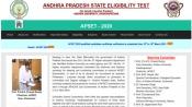 APSET 2020 certificate verification date and venue details