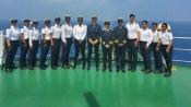 All-women crew of MT Swarna Krishna makes history; Mandaviya flags off vessel