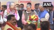 Tirath Singh Rawat sworn in as new CM of Uttarakhand