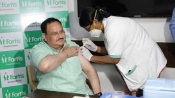 Coronavirus vaccination: BJP President JP Nadda receives first shot of COVID-19 vaccine