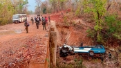 Five police personnel killed in naxal attack at Chhattisgarh