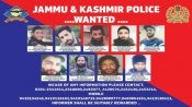 250 terrorists waiting at launch pads in Pakistan, while J&K cops release top 10 most wanted list