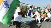 Haryana: Protesting farmers block KMP expressway