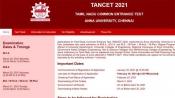 TANCET 2021 result declared on tancet.annauniv.edu