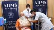 PM Modi takes second dose of Covaxin at AIIMS