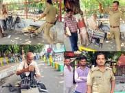 Social Media Protest: Old innocent typist torchered, typewriter smashed; UP cop suspended
