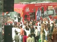 Vikas Rath Yatra: Akhilesh Yadav's hi-tech vehicle breaks down