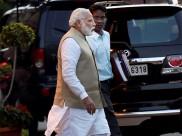 PM Modi sets example, shuns traffic restrictions